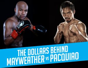 (Black Enterprise Mayweather-Pacquiao Infographic)