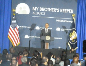 President Obama Launches My Brother's Keeper Alliance