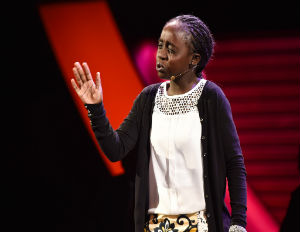 [WATCH] Kenyan 6th-Grader Shares Poem at Women in the World Summit