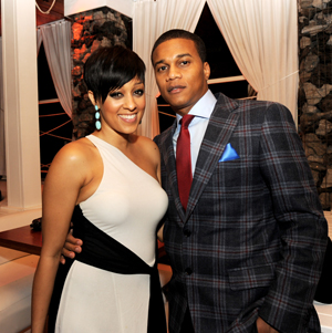 Tia Mowry-Hardict and her husband Cory (Source: Getty images)