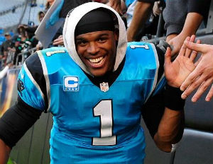 outlet store 9b383 98056 Cam Newton Signs Huge Deal With The Carolina Panthers