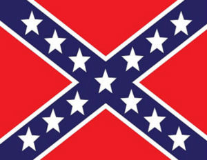The Steady Wavering Confederate Flag