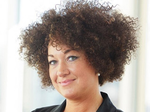 Rachel Dolezal, former president of the Spokane chapter of the NAACP. Dolezal was discovered to be Caucasian after identifying as black for some 10 years. (Image: Vibe.com)