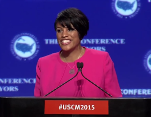 Stephanie Rawlings-Blake Appointed First Black Female to Lead US Conference of Mayors