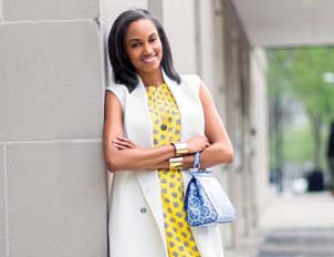 Jewel Burks, Google Entrepreneur-in-Residence and CEO of Partpic (Image: Glamour.com)