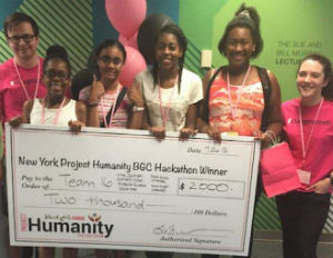Young Girls Design an App and Win Black Girls Code Hackathon