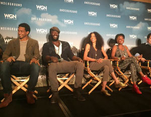 Cast of 'Underground' Reveals What Viewers Can Expect