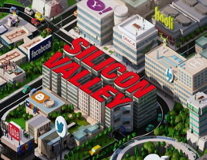 Silicon Valley stock image
