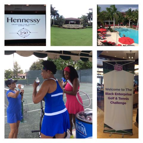 Golf & Tennis Challenge 2015: Day 1 – Daytime Highlights