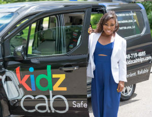Young Entrepreneur Turns Class Project into Successful Kids Transportation Company