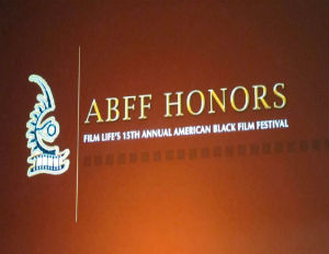 ABFF Honors signage