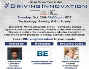 #DrivingInnovation: Technology, Beauty & Girl Power