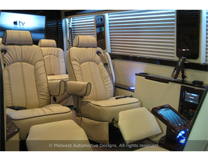 Customized Mercedes-Benzes Are the Ultimate Mobile Offices