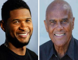 Uniting for Activism: Usher, Harry Belafonte Spark Vital Chat on Driving Change