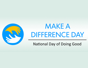 Millions of People Join 'Make a Difference Day' on October 24