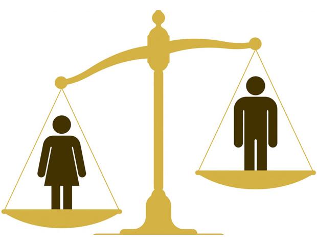 Illustration of gender gap in the U.S.