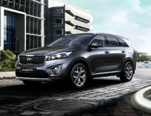 The 2016 Kia Sorento was my transportation around town (Photo: Kia.com)