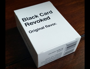 Just In Time For the Holidays: 'Black Card Revoked'