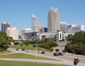Downtown Raleigh-Durham, North Carolina