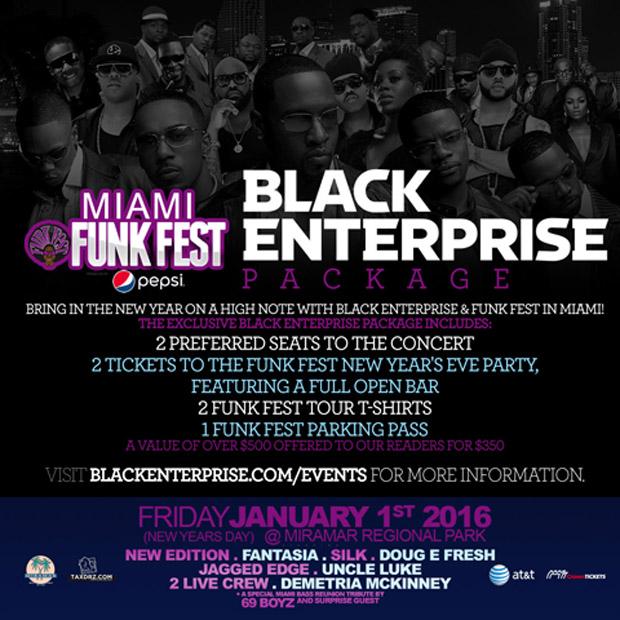 Miami Funk Fest promo flyer