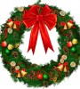 Image of a Christmas wreath