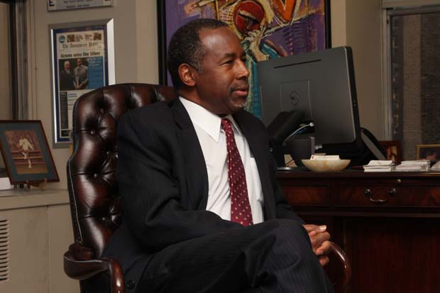 Carson in Graves Jr.'s Office