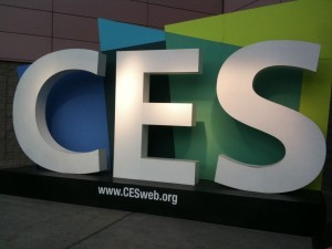 signage at CES 2016