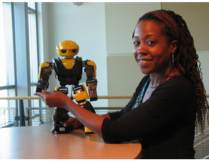 Black Female Robotics Scientist Launches STEM Startup