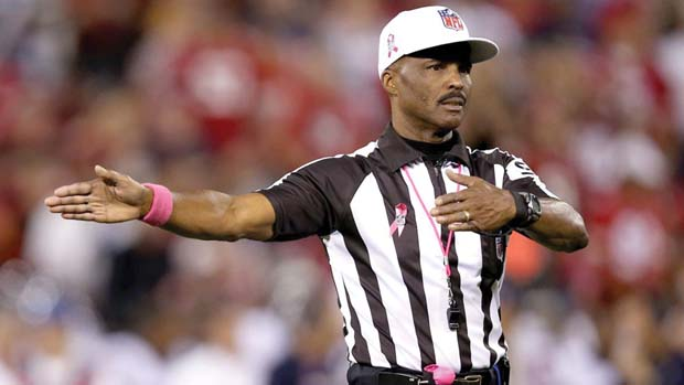 Mike Carey, retired football referee