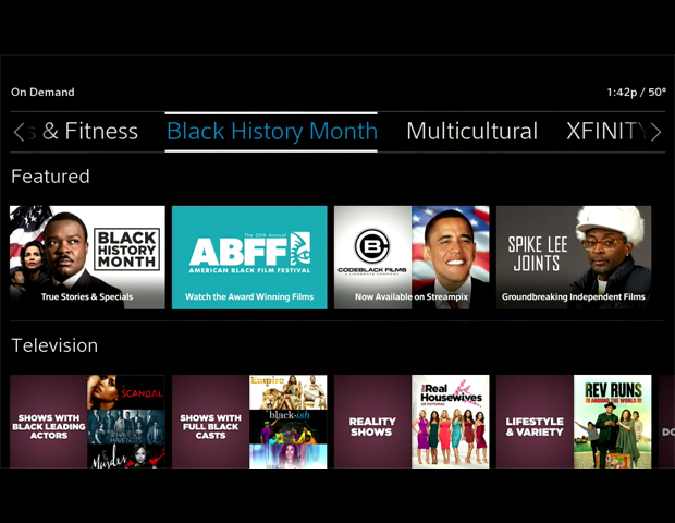 Comcast Launches New Xfinity On Demand Destination Featuring ABFF Curated Film Collection