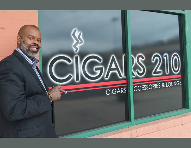 Robert Gooden, owner, Cigar Bar