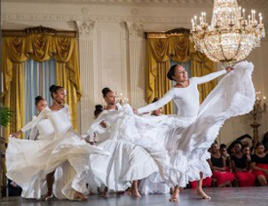 White House dance workshop