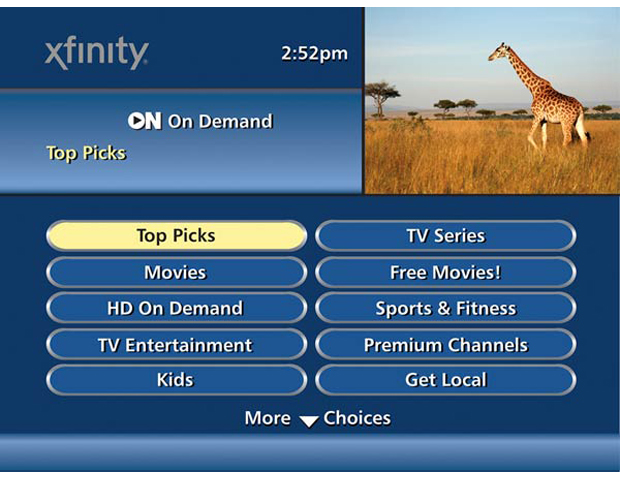 Comcast Launches Xfinity On Demand Destination With Abff