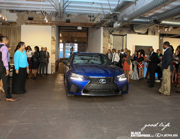"""Lexus rolls out their 2016 GS model for attendees at """"The Good Life"""" event."""