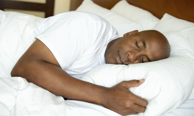 Sleeping to One Side   Young Clergy Women International   Man Sleeping In Bed At Night