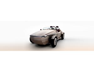 Toyota's Latest Futuristic Car is Made of Wood