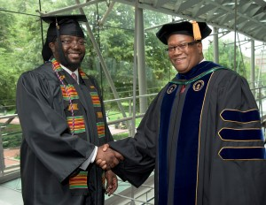Omar Richards, VP of the Black Male Initiative at SUNY/Empire State College, with David Fullard, Ph.D. (Image: David Fullard, Ph.D.)