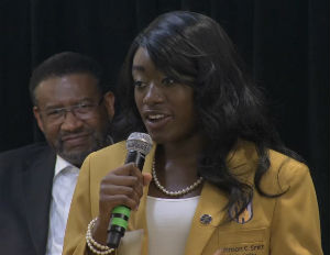 HBCU Student Says 'Let There Be Light'