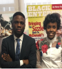 HBCU Buzz founder Luke Lawal and HBCU Buzz president Brittany Ireland