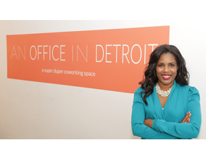 A Co-working Space Grows in Detroit