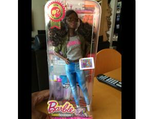 Techie Mods Doll Into a Black Barbie Game Developer