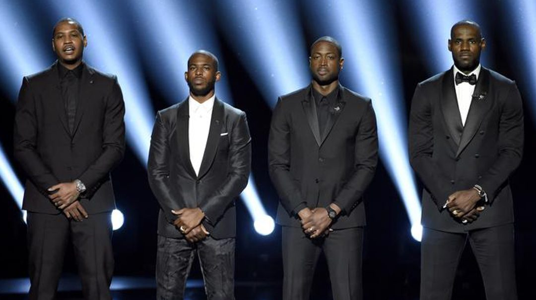 BE Modern Man: Carmelo Anthony, Chris Paul, Dwyane Wade, and LeBron James Say 'Enough Is Enough'