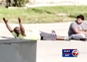 Miami Police Shooting of Innocent Black Man Draws Reaction From American Civil Liberties Union