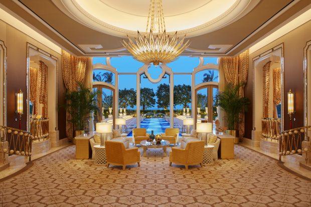 Wynn Palace Garden Villa Living Room Roger Davies
