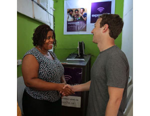 "While in Nigeria, Zuckerberg Praises ""Vibrant"" Developers and Entrepreneurs"