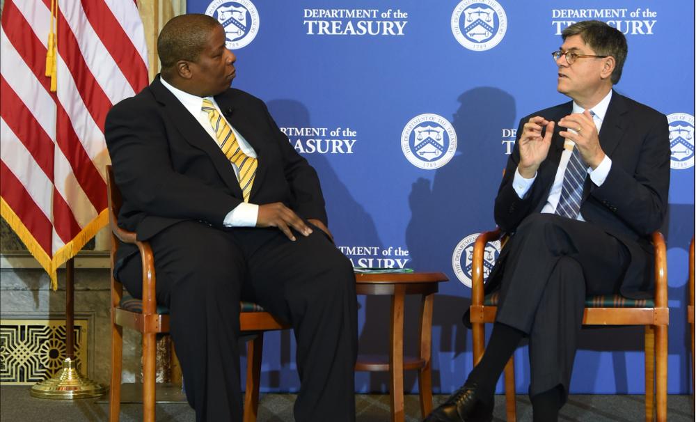Derek T. Dingle Discusses Economic Prosperity with Jacob J. Lew
