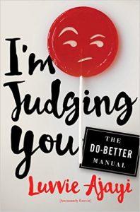 I'm Judging You Book cover