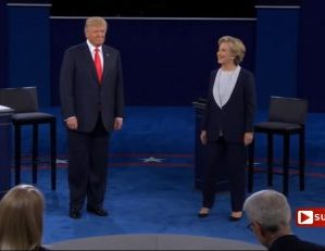 Presidential Candidates Trade Punches, but America Gets an Uppercut