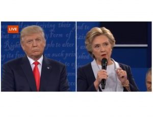 Clinton, Trump and the 2nd Presidential Debate