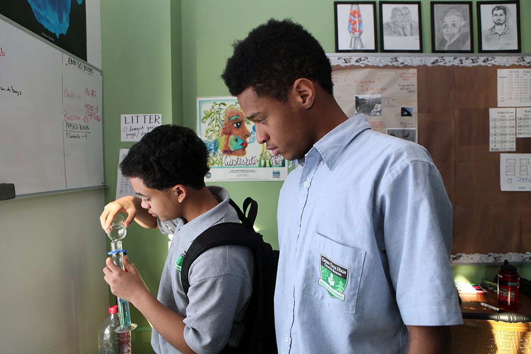 Green Tech Brightens Future for Albany's Young Men